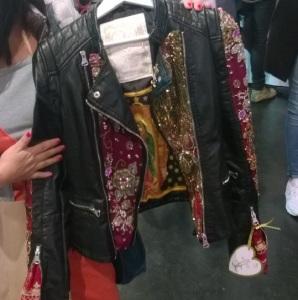 Couture Biker Jacke